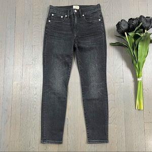 "J.Crew 9"" High-Rise Toothpick Skinny Denim Jeans"